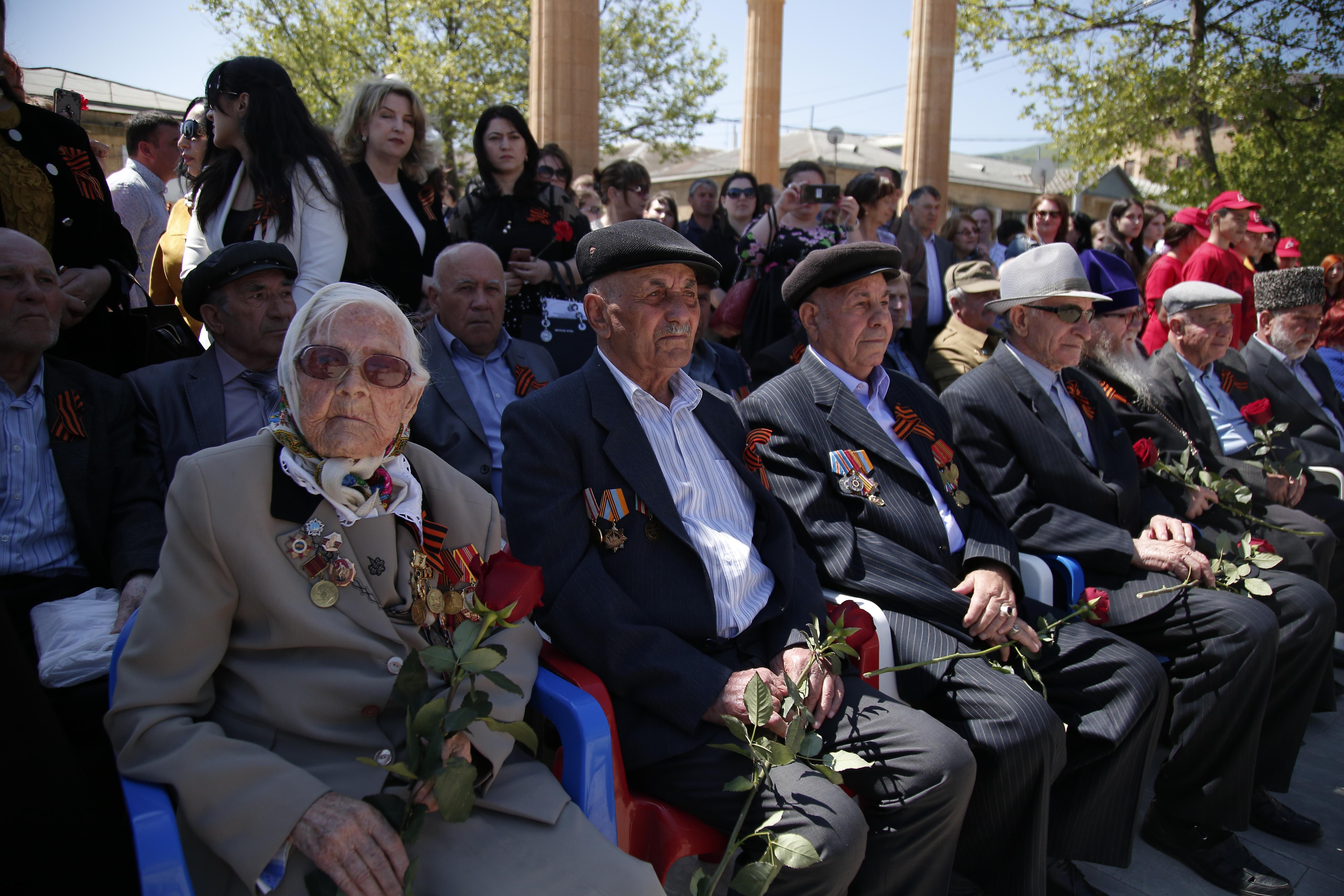 ДАГЕСТАН. В Дербенте прошло торжественное открытие Вахты памяти